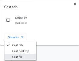 Google Cast File